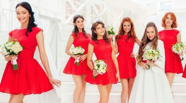 платья для подружки невесты