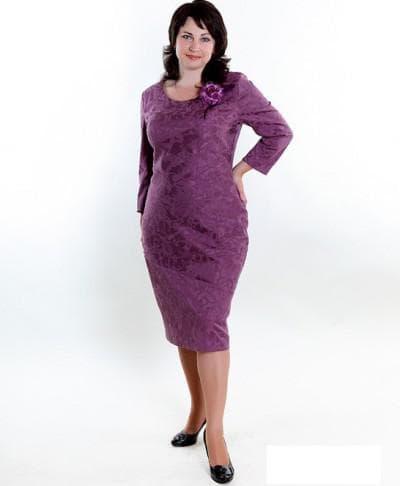 летнее платье для полных взрослых женщин
