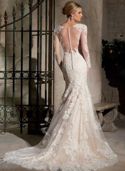 рукава свадебного платья рыбка