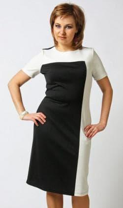 комбинированное летние платья 52 размера