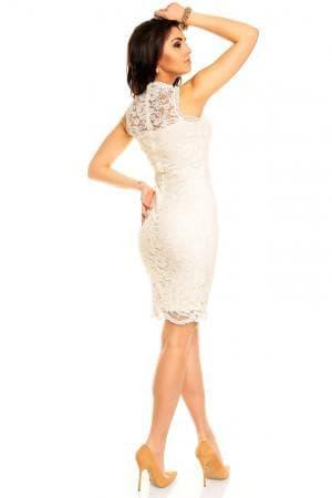 гипюровые платья больших размеров от Norma Kamali