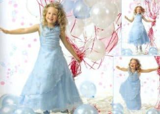 платья на новый год для девочки