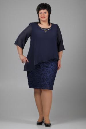 гипюровые платья больших размеров от OGGI