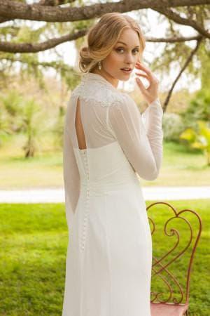 свадебные платья с длинным рукавом от Rembo Styling