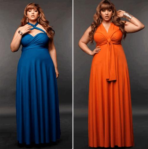 платье трансформер с большой грудью