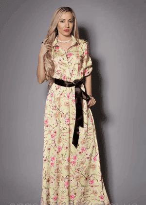 летние длинные платья в пол на каждый день