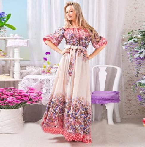 длинные платья от Karina Delux