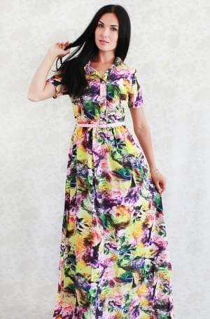 нарядное платье из штапеля от Rele Exclusive