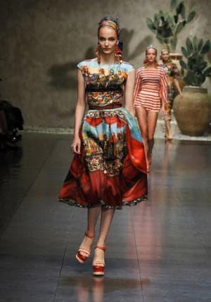 платья реплики Dolce & Gabbana