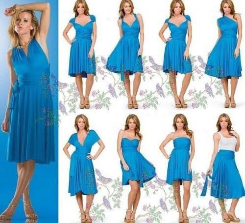 платье трансформер различных вариаций