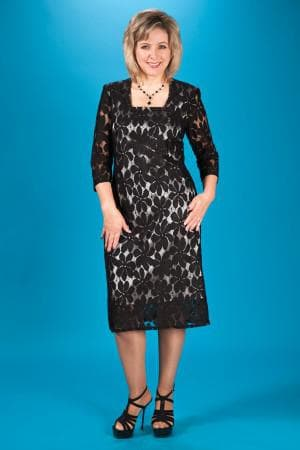 гипюровые платья больших размеров от Mac Duggal