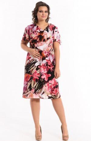 нарядное платье из штапеля от Merlis