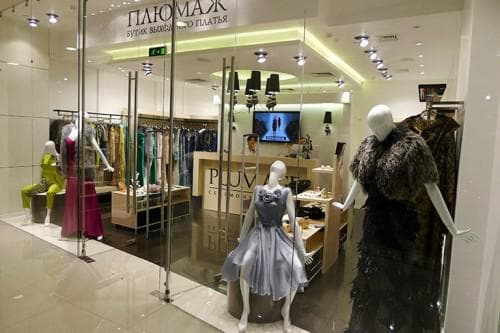 бутик с платьями