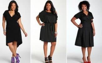 платья с запахом для полных женщин
