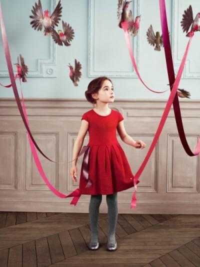 детское платье от Baby Dior