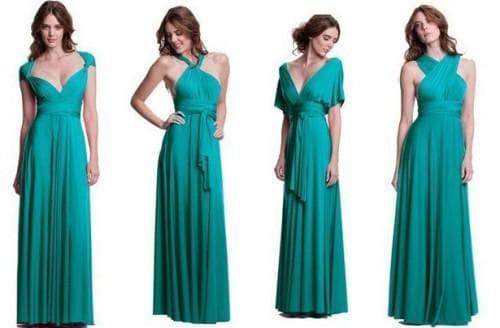 платье трансформер различной вариации