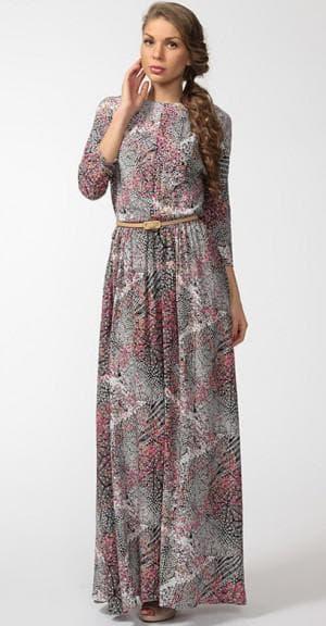 нарядное платье из штапеля от Top Design