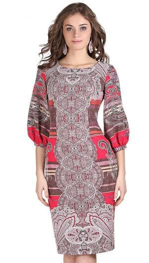 платье из купонной ткани