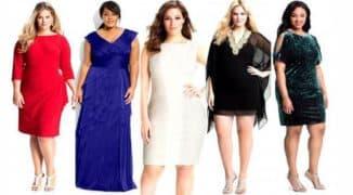 платье для полных дам
