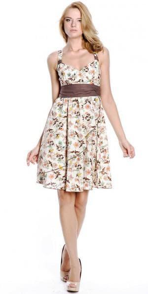 нарядное платье из штапеля от Валерия