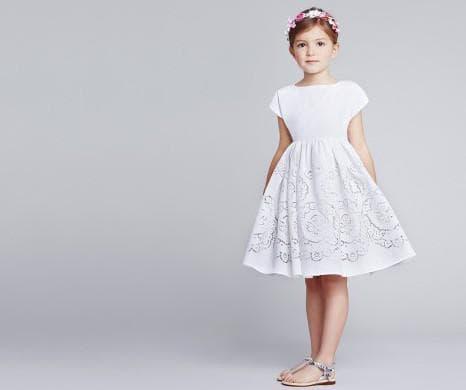 детское платье от Dolce Gabbana