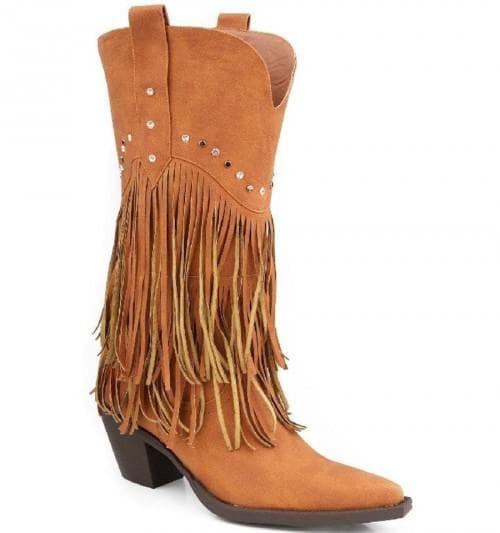 ковбойские сапожки для дам