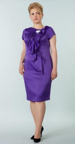 платье на выпускной для мамы фигура яблоко