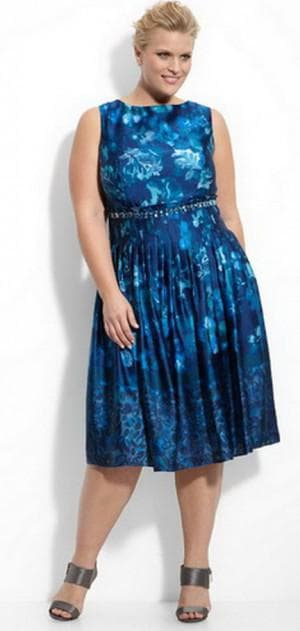 платье груша из купонной ткани