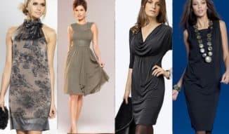 модель летнего платья для женщины 50 лет