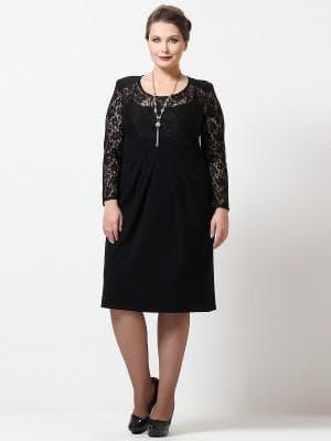 гипюровые платья больших размеров с добавлением лайки