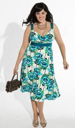 летние платья сарафан клёш 52 размера