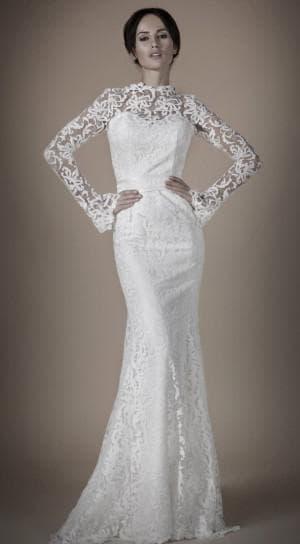кружевное платье для венчания
