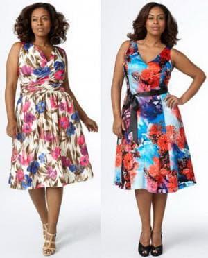 платье яблоко из купонной ткани