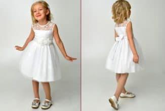 детские платья для девочки 6 лет