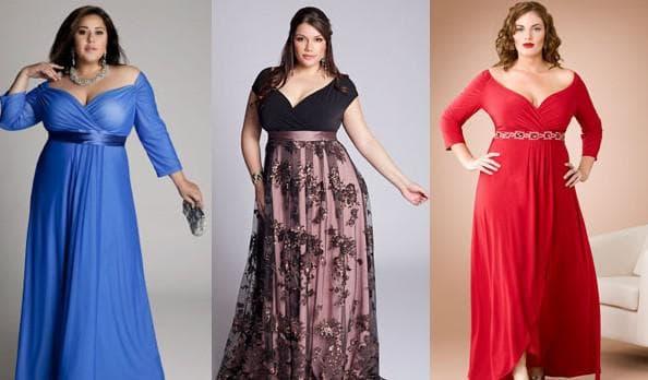 платья с завышенной талией в пол для полных