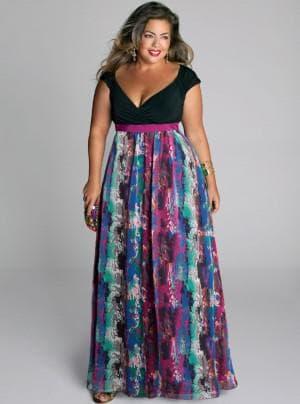 платья сарафаны в пол для полных
