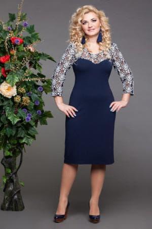 длинные нарядные платья для полных женщин отPink Clove
