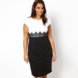 длинные нарядные платья для полных женщин от Junarose