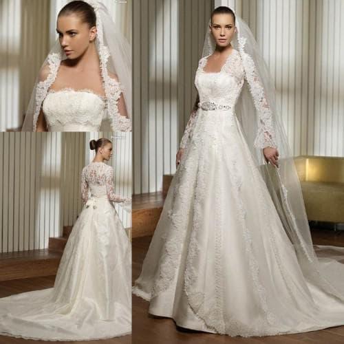 платье для венчания для разных типов фигур