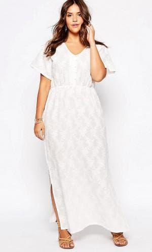 длинные нарядные платья для полных женщин от Alice & You