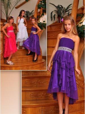 длинное платье для девочек 15 лет на выпускной