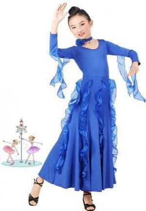 платья для вальса танцев для девочек