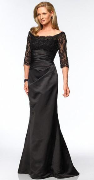 платье русалка на выпускной для мамы