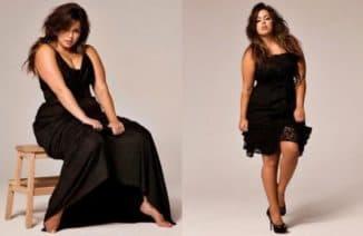 красивые длинные платья для полных дам