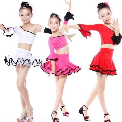 наряд для латиноамериканских танцев для девочек
