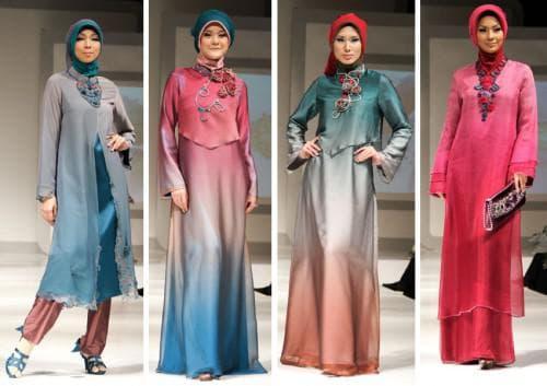 модное исламское платье