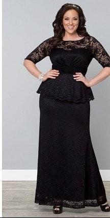 платье в пол для полных от Chanel