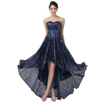 асимметричное платье от Tadashi Shoji