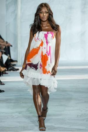 асимметричное платье от Diane von Furstenberg