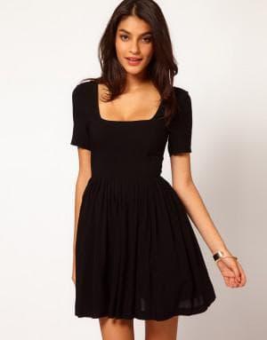 платье прямоугольной формы